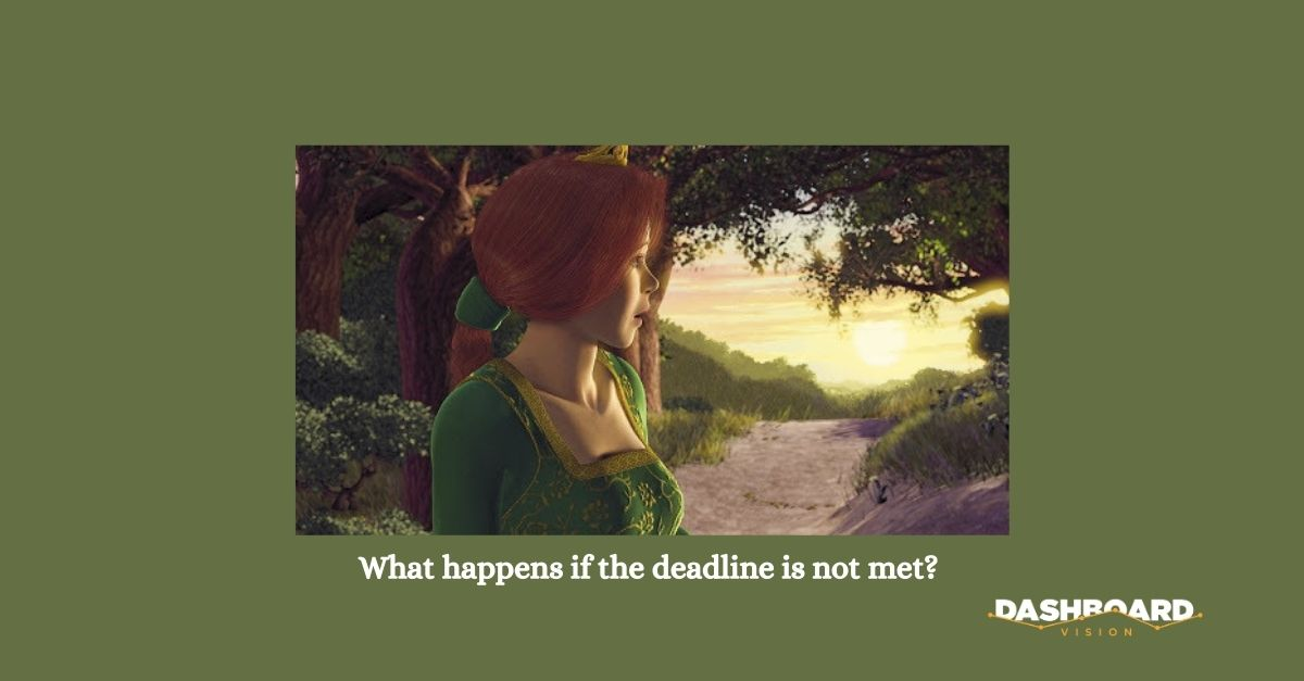 what if the deadline can't be met without changing the scope